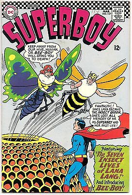 SUPERBOY #127,DC SILVER AGE,1966,12c COVER!