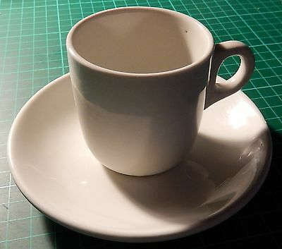 Maddock & Sons, demitasse cup (c.1960+) and saucer (c.1896+)