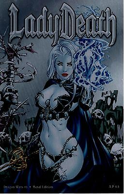 Lady Death Dragon Wars 1  A/P 4 out of ONLY 5 made METAL COVER Ebas FREE UK POST