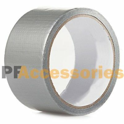 """30 FT x 1.88"""" Industrial Utility Craft Hardware Duct Tape Silver Roll"""