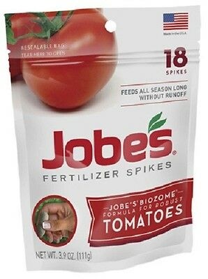 Jobes, 108 Pack, 6-18-6, Tomato Spikes