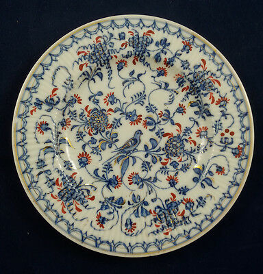 Early Thuringia Greiner Rich Blue Onion Style Plate Porzellan