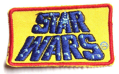 "Star Wars Retro Classic Yellow Logo 3.25"" Patch-FREE S&H (SWPA-FC-02)"