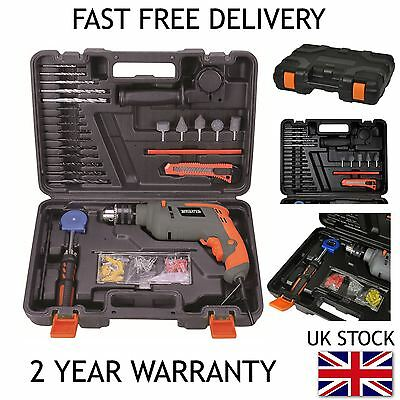 Free Post 500W Electric Impact Hammer Variable Speed Drill Driver Screwdriver