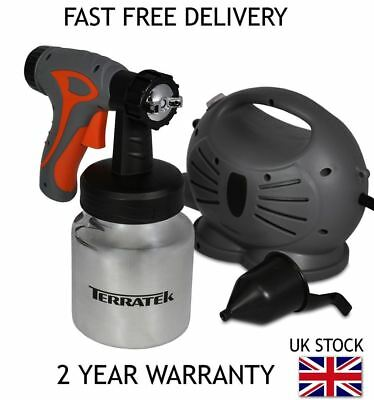 Terratek Multipurpose Electric Airless Paint Spray Gun Sprayer Painting 650W
