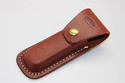 "KaBar Large Brown Leather Sheath for Folding Knives Up to 5 "" folded"