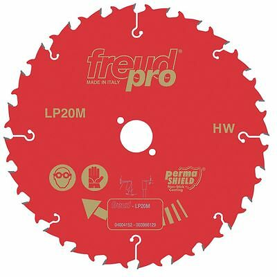 NEW Freud LP20M 025 TCT Circular Saw Blade 24-Tooth 250mm x 30mm Bore