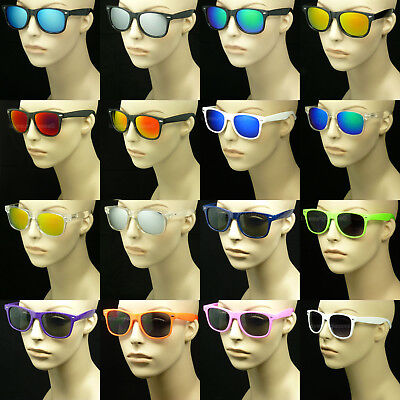 Sunglasses Retro New Colors Mirror Vintage Wayfarer Style Men Women Glasses New
