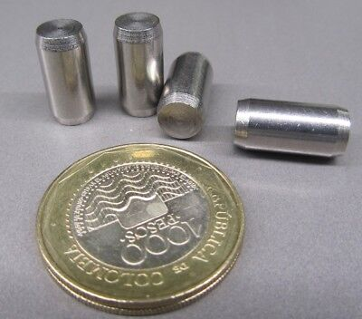 18-8 Stainless Steel Metric Dowel Pins M8 Dia x 16mm Length, 10 Pieces
