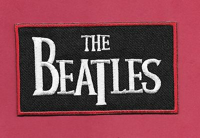 """New The Beatles 'Red"""" 2 1/4 X 4 1/4 """" Inch Iron on patch Free Shipping"""