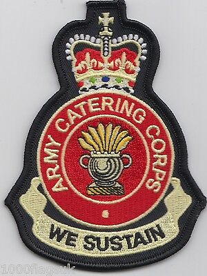 British Army - Army Catering Corps - Embroidered Patch Badge