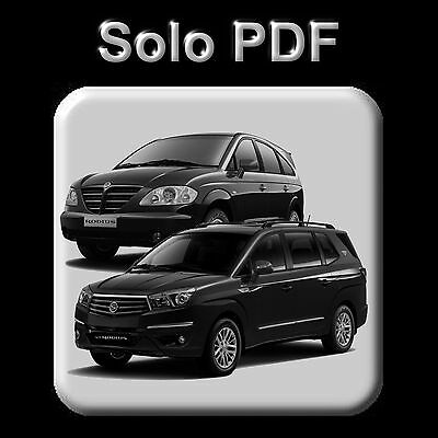 Ssangyong Rodius  - All Models (2004-2014) - Workshop, Service Manual - Wiring