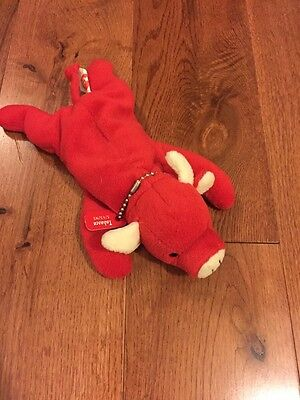 Ty Original Beanie Baby Tabasco Error No Name on Tag Mint Condition