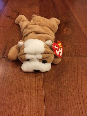 Ty Original Beanie Baby Wrinkles Mint Condition