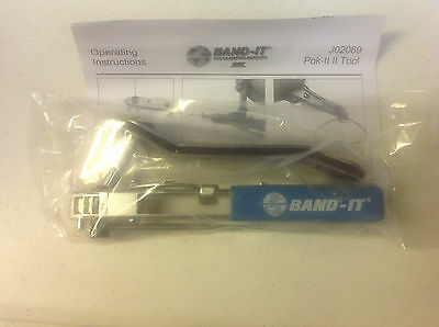 Band-It Pok-It II Tool With Cutter J02069