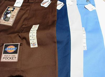 """NWT Dickies Work Shorts Mens 26 - 29 Style 42283 13"""" Inseam Multi-Use Pocket New"""