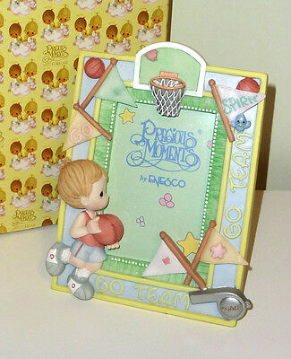 Precious Moments Sports Basketball detailed picture frame