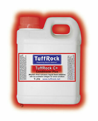 New Tuffrock Conditioner Plus C+ for Horses digestive+joint+coat health 1lt