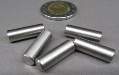""".001"""" Oversize 18-8 Stainless Steel Dowel Pins 1/4"""" Dia x 3/4"""" Length, 4 Pcs"""