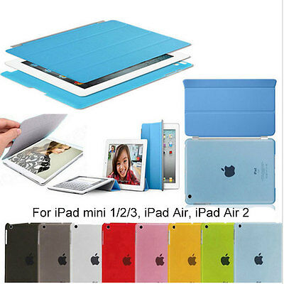 For iPad Air/Air 2/Mini 1 2 3 4 Screen Protector Slim Magnetic Smart Cover Case