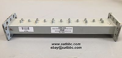 Microwave Filter MFC C-Band Single Transponder Bandpass Filter# 17600 -3458 Used