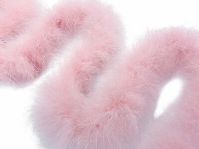 USA SELLER - 2 YARDS - BABY PINK Marabou Feather Boa 25g