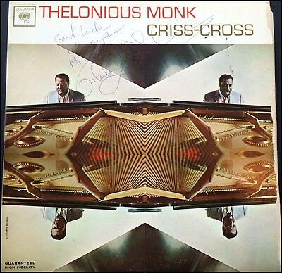 Thelonious MONK & Sonny ROLLINS (Jazz): Criss-Cross Signed LP