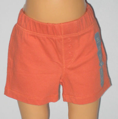 New BABY GAP Size 0-3 Months Boys Miami Coral Shorts