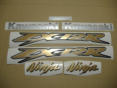 zx-12r 2005 ninja full decals sticker graphics kit set adhesivi labels наклейки