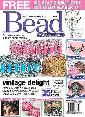 Bead And Jewellery magazine Issue 52 February/March 2014