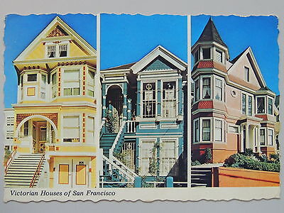 Postal-Victorian Houses Of San Francisco  #202