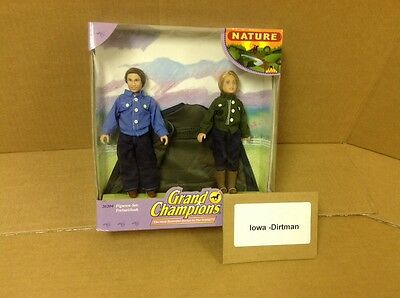 Grand Champions Nature Figures 26204 Horse Play Set New Vintage