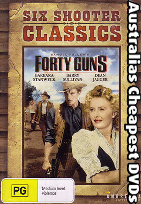 Forty Guns DVD NEW, FREE POSTAGE WITHIN AUSTRALIA REGION ALL