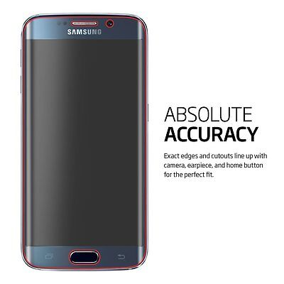 5Pcs/ Lot Full Coverage Film Screen Protector Guard for Samsung Galaxy S6 Edge