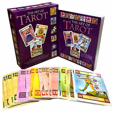 The Art of Tarot Deck Cards Collection Box Gift Set Mind Body Spirit Psychic NEW