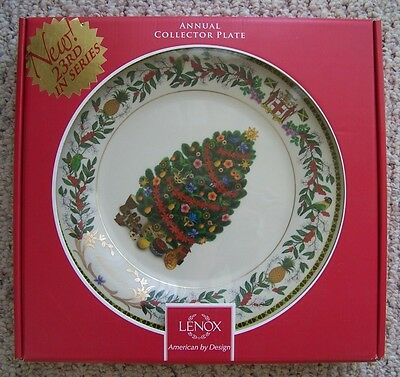 Lenox**2013**trees Around The World ~ Jamaica ~ Annual Collector Plate ~ New!!