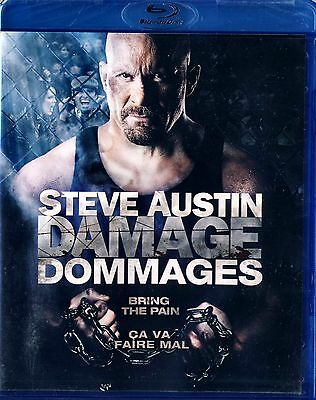 "BRAND NEW BLU-RAY // Damage  //   Steve (""Stone Cold"") Austin ,"