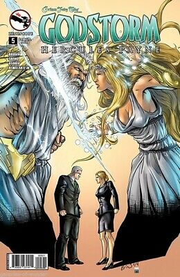Comics GODSTORM #0 Cover A NM Zenescope Ebas Wonderland