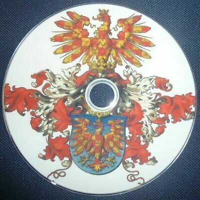 Heraldry Heraldic Coat of Arms 42 Vintage Antique History Books on DVD
