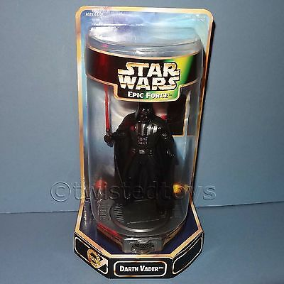 1998 HASBRO STAR WARS EPIC FORCE THE KENNER COLLECTION DARTH VADER FIGURE BOXED