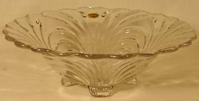 Cambridge Caprice Crystal 10-1/2in Belled Bowl 4Ftd #54