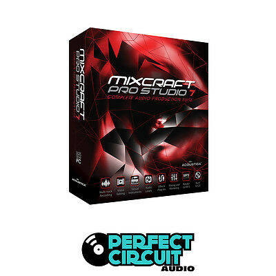 Acoustica Mixcraft Pro Studio 7 Production DAW - DIGITAL - PERFECT CIRCUIT