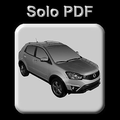 Ssangyong New Korando (2006-2015) - Workshop, Service Manual - Wiring - Owner's