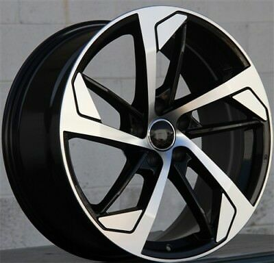"""19"""" 19x8.5 AUDI B8 RS4 Style WHEEL & TIRE PACKAGE SET(4) Fit A4 A5 A6 A8 S4 S6"""