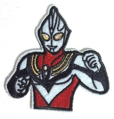 """UltraMan Red Anime 2.75"""" Embroidered Patch- FREE S&H (AUltra-02)"""