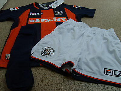 Genuine Fila Luton Town Children Away Full Kit 2014/15, Size: 2/3, 4/5 Years