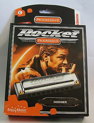 Hohner Rocket Harmonica various keys available - + FREE GIFT- high quality harp