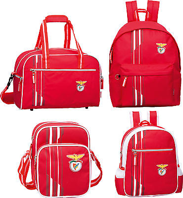SLB Benfica Official Club Backpack Rucksack Shoulder School Travel Bag Portugal