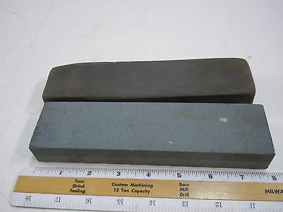 1 - DIAMOND BRAND AND 1 - VINTAGE SHARPENING STONE COMBO OIL WHETSTONES WHET