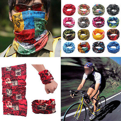Sports Men Women Snood Bandana Head Face Mask Neck Warmer Sport Running Scarf